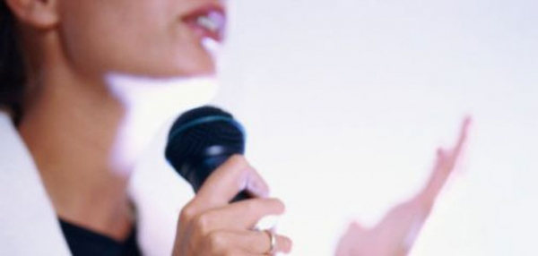 woman-using-microphone