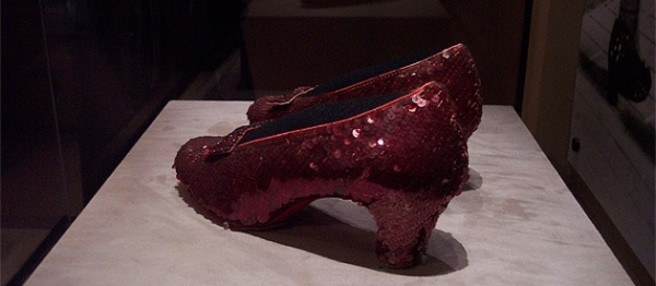 Passion Is A Pair Of Ruby Slippers
