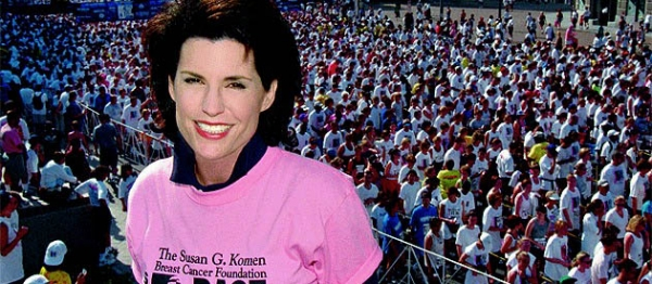 Nancy-Brinker-Susan G. Komen for the Cure