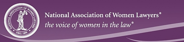 The National Association of Women Lawyers logo