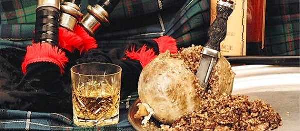 Traditional Scottish Food And Drink