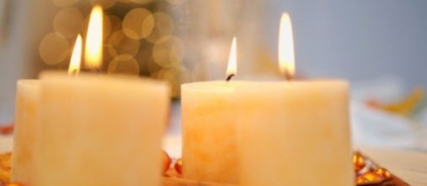 Scented Soy Pillar Candles